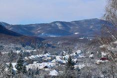 Elbűvölő hegyvidéki falu a Mátra északi lábánál   Mert utazni jó, utazni érdemes... Merida, Bucket, Snow, Mountains, Facebook, Nature, Travel, Outdoor, Outdoors
