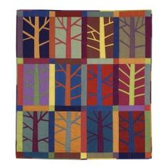 pieced trees tutorial I also like the images at http://quiltsalott.blogspot.com/2014/10/trees-in-nature-and-patchwork.html but not pinnable