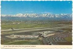 SLC Airport...It wasn't an International airport at this time. There were only 2 concourses.