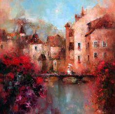 Angelica Privalihin | Russia | #painting #Art pls visit us > www.facebook.com/skalapeter7 ♡
