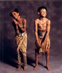 The Original Broadway cast of Disney's: The Lion King - Young Nala & Young Simba