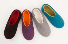 Wooppers woolen slippers - The Greek Foundation