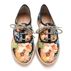 ready for spring with Loeffler Randall x Tucker oxfords, featured in today's Hearts story!