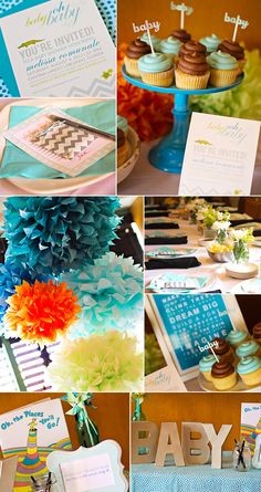 Baby Shower Decorations #baby #shower (photo credit: Kimberly Joy Photography)