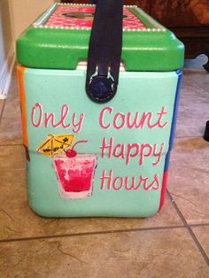 only count happy hours cocktail