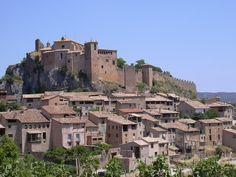 Huesca Alquézar - vista general -