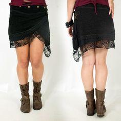 "Skirt Exception ""Payoja"", Black"