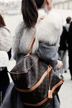 Paris Fashion Week FW13 by Paris in Four Months, via Flickr www.louisvuittonoutletsuppliers.com