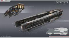ArtStation - Terran Capital Ship, Tobias Frank