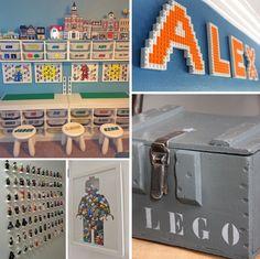 Zijn jouw jongens ook gek van LEGO en hebben ze ook hele verzamelingen met duizenden blokjes in rood, geel, blauw en wit? Inspiratie genoeg, kijk hier …..