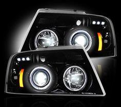 Multi-Color LED Angel Eyes Halo Rings Kit for Ford Focus 2 Mk2 2004-08 Headlight