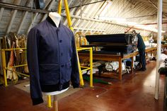 Private White V. Factory The family-run facility behind the dedicated UK-based menswear brand via Jardine Hunting