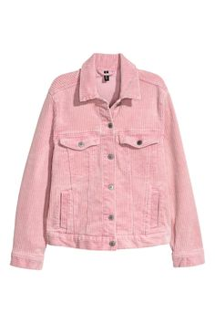 Corduroy jacket - Pink - Ladies | H&M GB 2