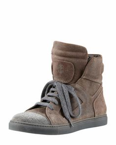 currently obsessing over these Cucinelli sneakers - am thinking that they need to be mine!