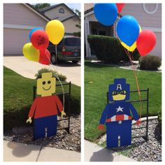 Lego Super Hero Party