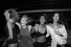 Life isn't always in black and white, but some of our favourite moments from our boat trip in the Maldives were best captured that way. Spontaneous moonlit mayhem gave inspiration to the black and white collection, where the absence of color lives out loud in rich texture, crisp prints, and edgy cuts. roxy.com/black-and-white