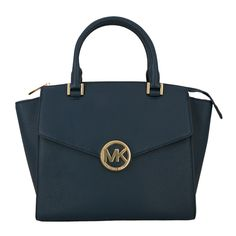 Michael Kors Hudson Navy - beautiful accessory for the perfect utilitarian outfit.
