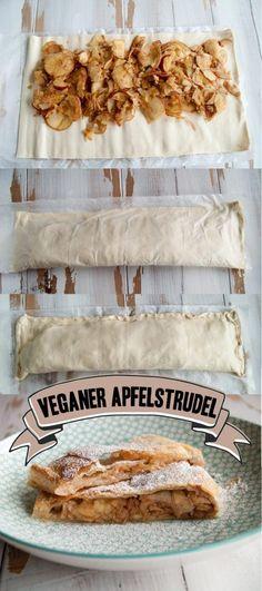 Veganer Apfelstrudel | Veganmitgenuss.com