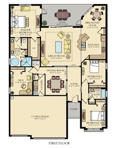 The Princeton New Home Plan in Gran Paradiso: Manor Homes by Lennar