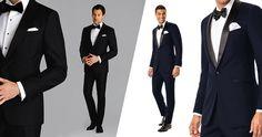 Spring Black Tie Wedding Attire for Guests