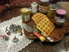 Shared Connections: Fancy plates might be created to please but Waffles never go out of fashion as they truly rule the hearts:Age no bar, culture no bar.
