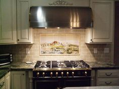 clay subtile tile backsplash via designwithchristine