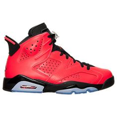 brand new 6b136 73602 ... Pas Cher - lesneakerboxs.com · Nike Air Jordan 6 Retro Iinfrared  black  384664-623