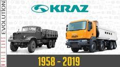 W.C.E. - Kraz Evolution (1958 - 2019) Monster Trucks, Van, Eastern Europe, Youtube, History, Classic, Derby, Historia, Classical Music