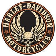 Harley Davidson Sign Gearhead Skull Ande Rooney Harley Davidson Tin Sign Collection utilizes lithographed on tin process, this makes for a more detailed and inticate sign. The result is a reproduction