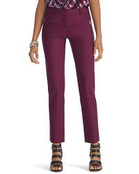 Burgundy Perfect Form Pant-perfect for Fall