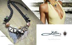 #miltonfirenze #frange #necklace Luxury Jewelry, Accessories Shop, Magazine, Jewellery, Chain, Shopping, Fashion, Bangs, Moda