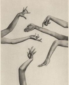 Charlotte Rudolph :: Hands of dancer and choreographer Mary Wigman, From Rudolf Bach's: The Mary Wigman work. With contributions by Mary Wigman and 80 illustrations. Published in Dresden: Carl. Alvin Ailey, Dance Movement, Body Movement, Illustration, Modern Dance, Contemporary Dance, Design Graphique, Art Plastique, Art Direction
