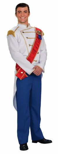 Forum Fairy Tales Fashions Prince Charming Costume Blue/White Standard * Check this incredible product by mosting likely to the web link at the image. (This is an affiliate link).