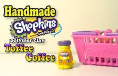 How To: Polymer Clay Shopkins Inspired Toffee Coffee Tutorial!