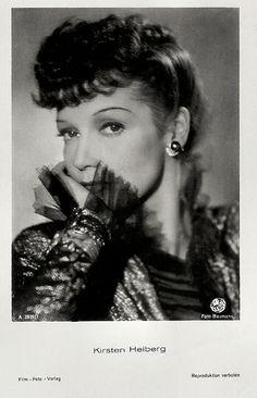 Kirsten Heiberg - see also www.facebook.com/GlamourforGoebbels Marlene Dietrich, Cinema, Dreadlocks, Design Inspiration, Hollywood, Actresses, Hair Styles, Facebook, Beautiful
