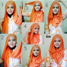 #hijab #tutorial #shawl #stepbystep #easy #sweet
