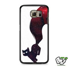 Red Cat Galaxy Samsung Galaxy S7 Case