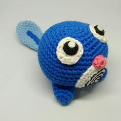 Fresh from hook: just listed in Etsy 2 Poliwag amigurumi dolls. Ready to ship!