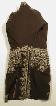 Coat  National Trust Inventory Number 1349412 Date1770 - 1780 CollectionSnowshill Wade Costume Collection, Gloucestershire (Accredited Museum)