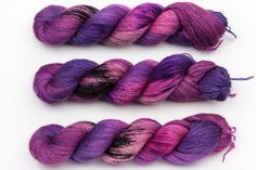 umeshu fingering yarn hand dyed yarn merino by KnitCosmicStrings