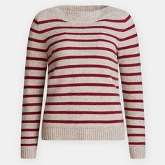 Made of pure merino wool, the Seasalt Vellum Jumper is a handsome heritage knit complete with classic Breton stripes. Semi fitted with a boat neck and long sleeves, this jumper has a shaped neck trim and ribbing on the cuffs and hem. Jumper, Men Sweater, Breton Stripes, Padded Jacket, Sea Salt, Boat Neck, Merino Wool, Project 333, Size 12