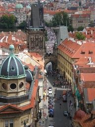 April - Prague. Had a nice visit at Easter time.