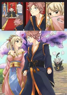 Nalu Story Form Fairy Tail