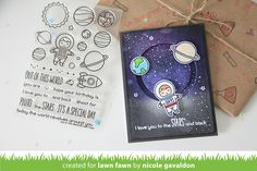 Image result for lawn fawn out of this world