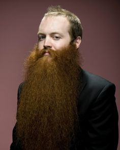 Extravagant beards and moustaches - photography by Dave Mead