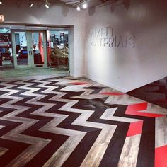 Flooring never looked this cool. Photo courtesy of @darylsheila. #Patcraft…