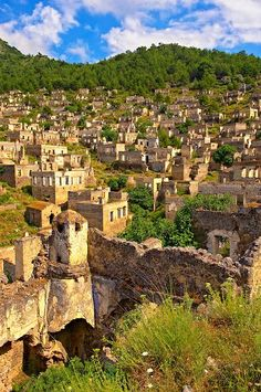 Don't miss the chance to visit the ghost town of #Kayakoy that was adopted by the UNESCO as a World Friendship and Peace Village