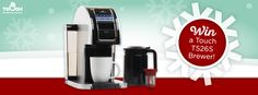 Enter for the chance to WIN a variety pack of single-serve cups and a fully compatible Touch T526S Brewer. Ready to brew any cup of cheer—your choice!