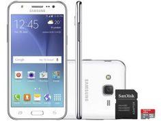 Smartphone Samsung Galaxy J5 Duos 16GB Dual Chip - 4G Câm 13MP + Selfie 5MP Flash + Cartão 16GB