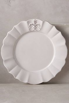 Fleur De Lys Side Plate